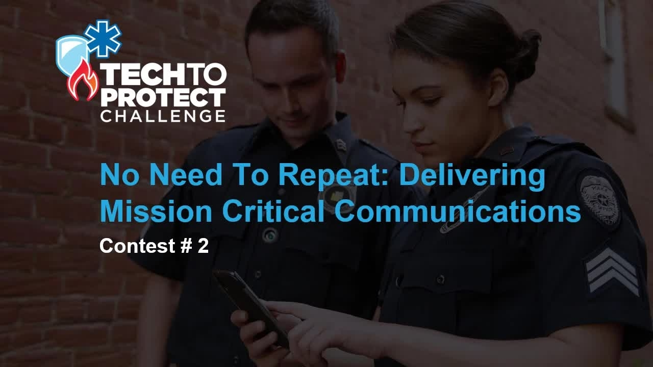 Tech to Protect Challenge - MCPTT Application
