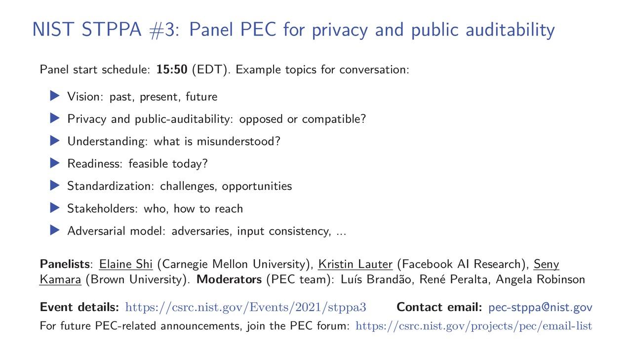 STPPA3 Panel