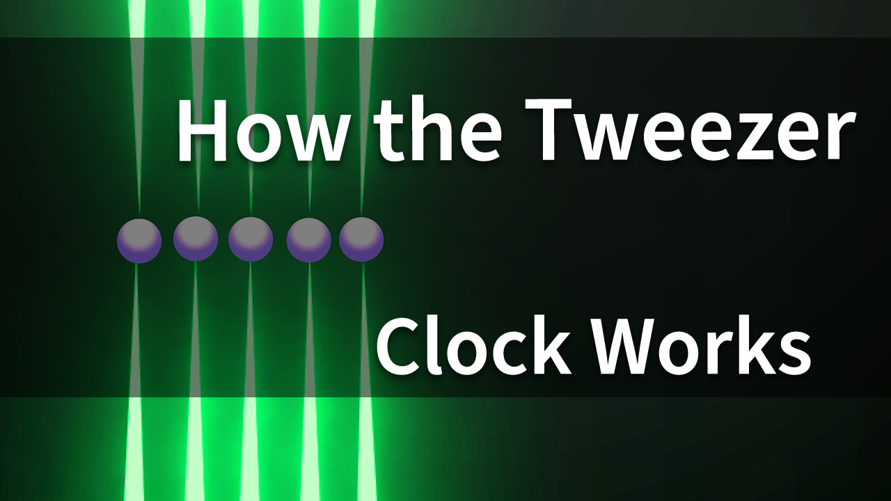 How the Tweezer Clock Works