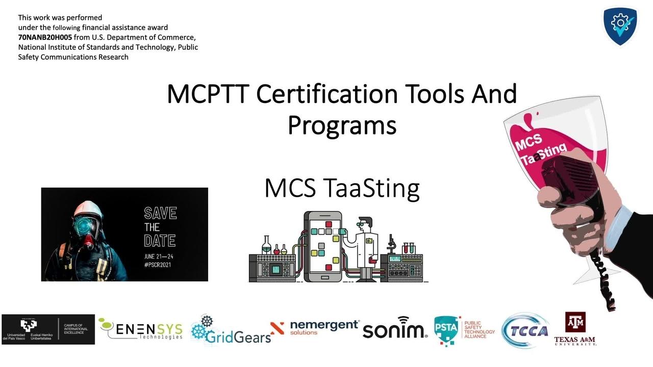 PSCR 2021_MCS TaaSting UPV-EHU_On-Demand