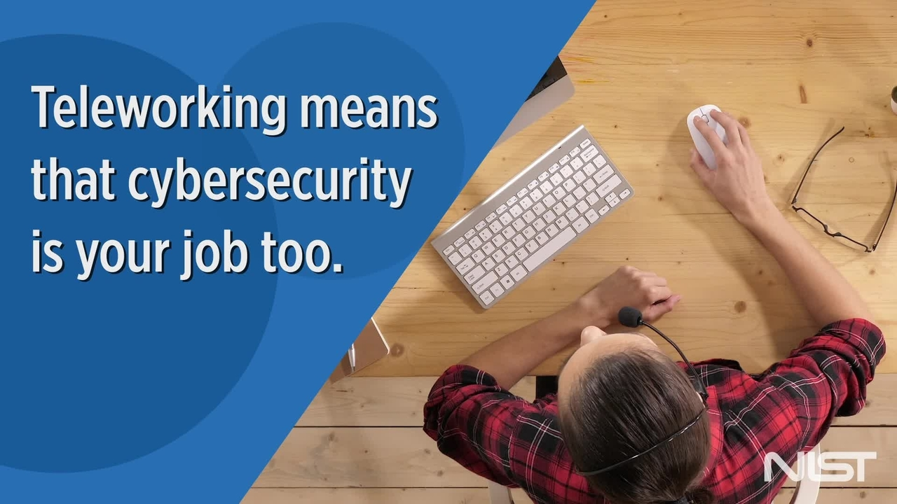 Telework Security Basics from NIST