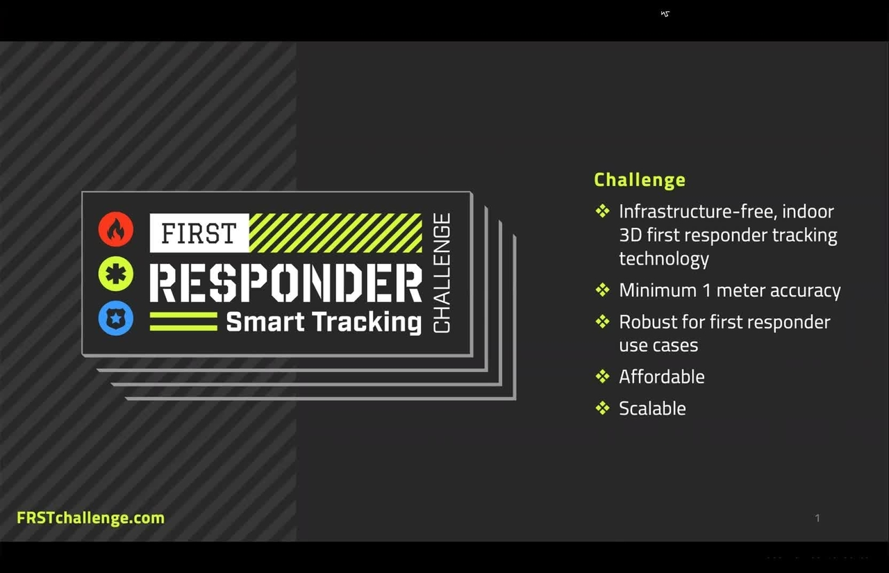 PSCR 2021_First Responder Smart Tracking_On-Demand