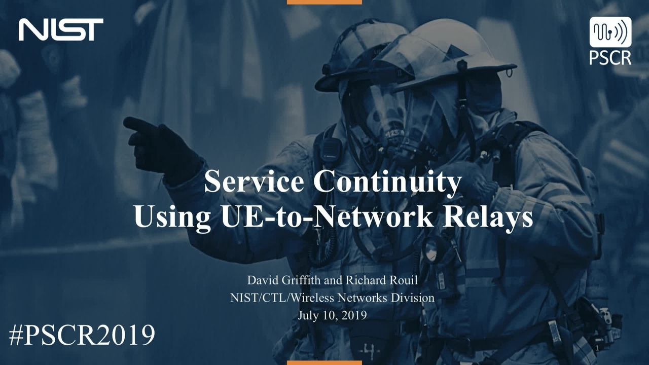 Enabling Service Continuity Using UE to Network Relays