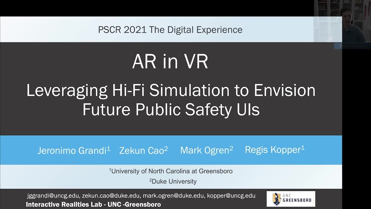 PSCR2021_AR in VR_On-Demand