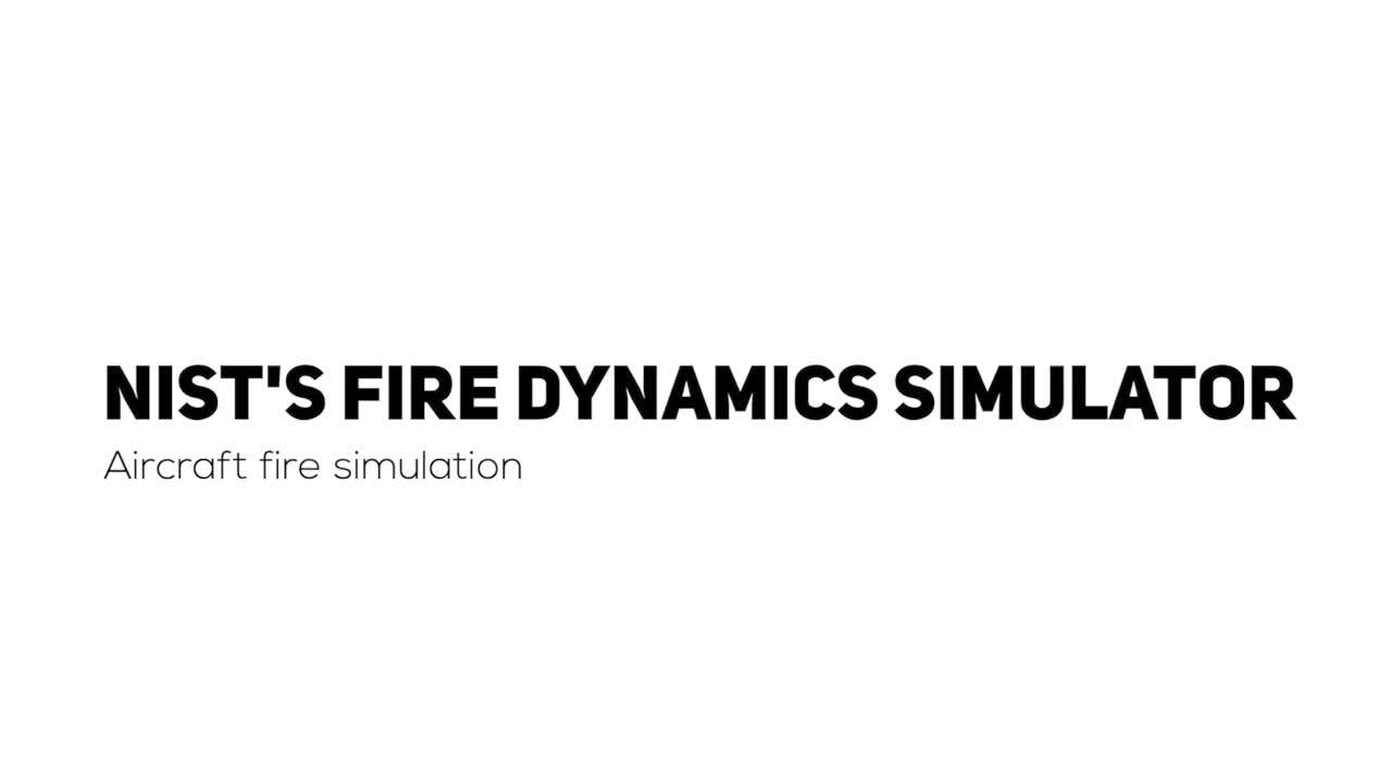 Aircraft fire simulation