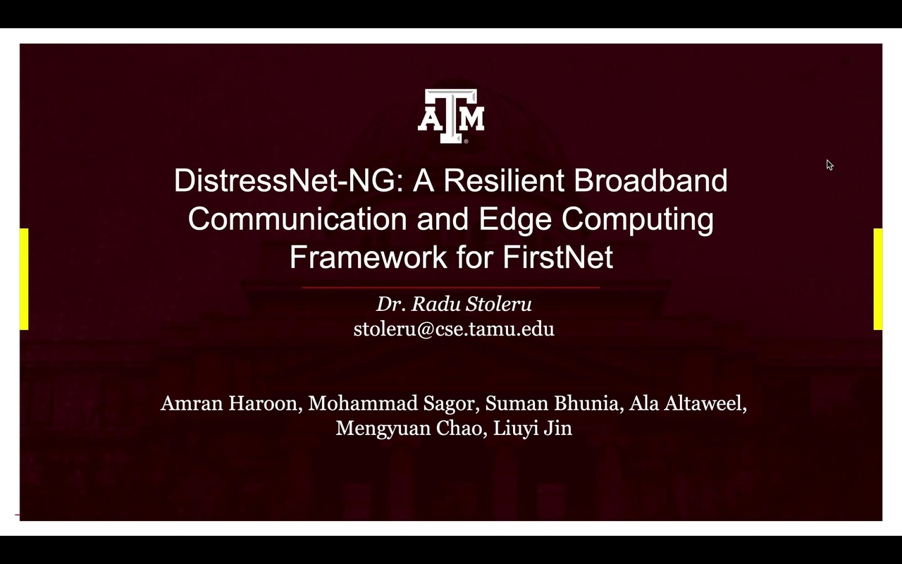 PSCR 2021_DistressNet-NG_On-Demand