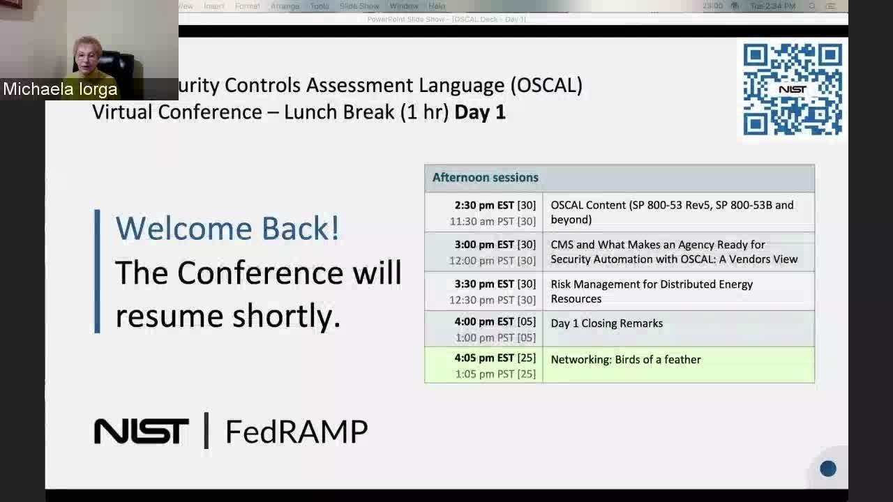 OSCAL Session 3