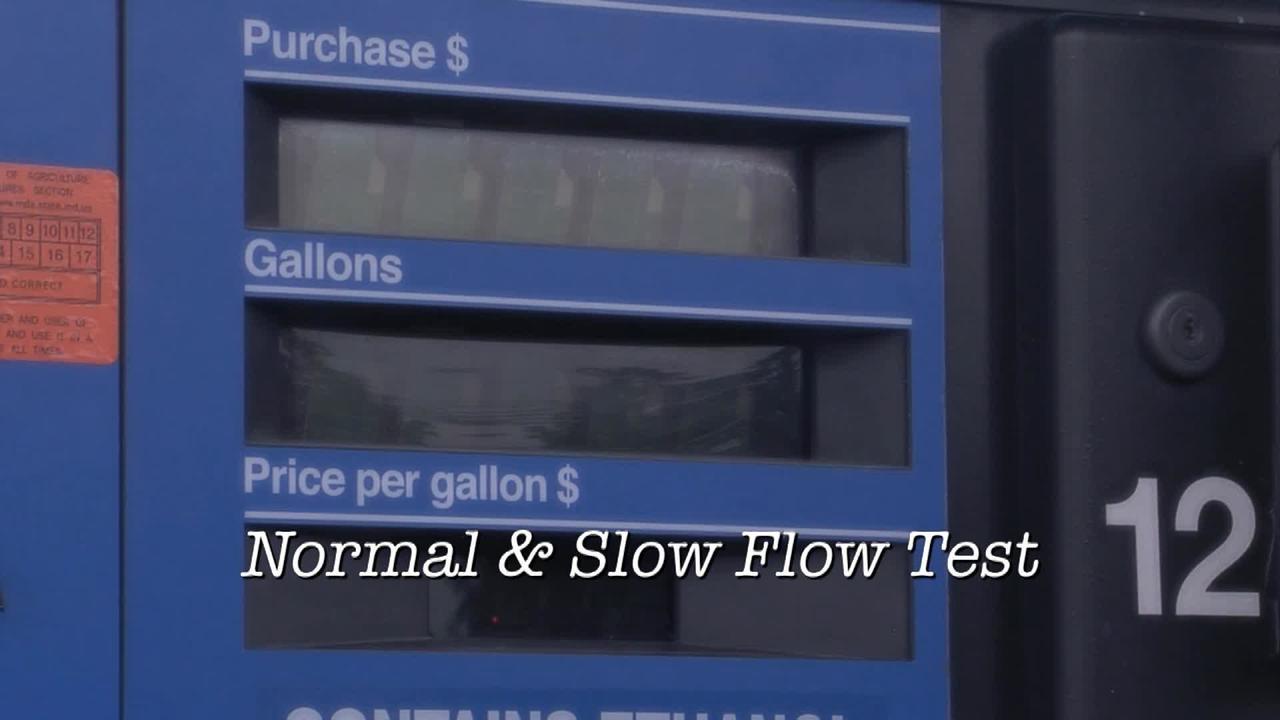 Normal & Slow Flow Test