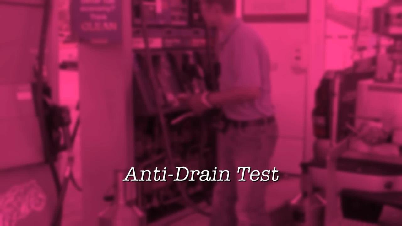 Anti-Drain Test