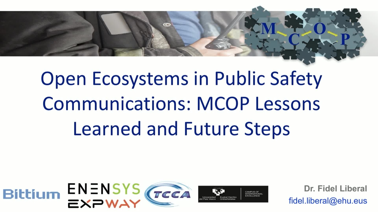 Open Ecosystem in Public Safety Communications