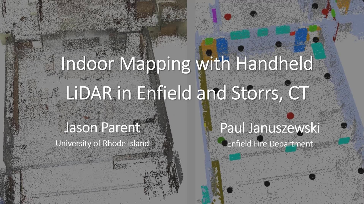 PSCR 2021_Indoor Mapping with Handheld Lidar_On-Demand