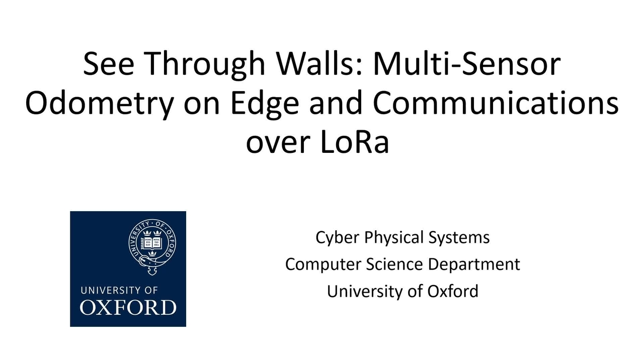 PSCR 2021_See Through Walls_Tech Demo
