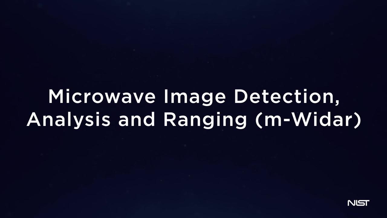 Microwave image detection, analysis and ranging (m-Widar)