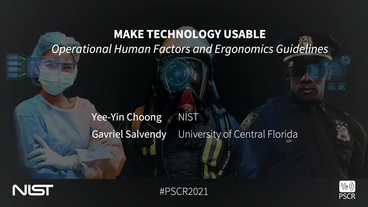 PSCR 2021_Make Technology Usable_On-Demand