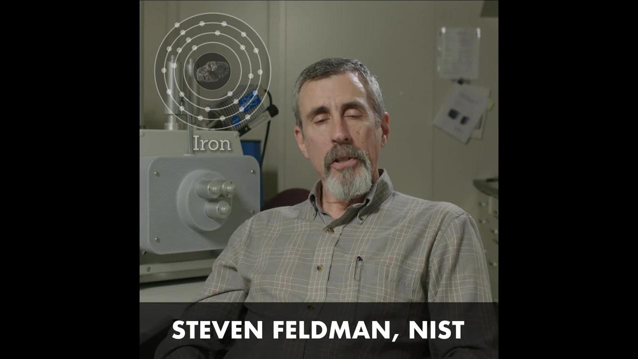 NIST Engineer Steve Feldman on Iron