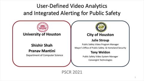 PSCR2021_User-Defined Video Analytics_on-demand