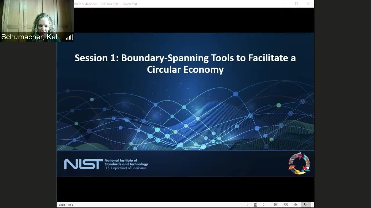 Facilitating a Circular Economy For Textiles Day 1 Part 2