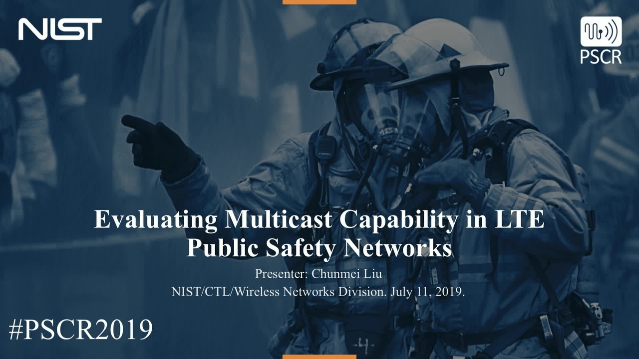 Evaluating Multicast Capability in LTE Public Safety Networks