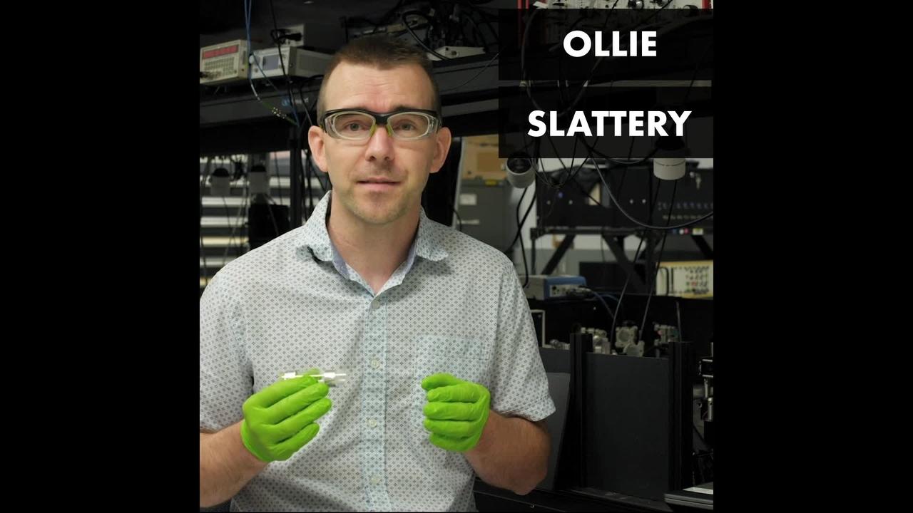 NIST Physicist Ollie Slattery on Cesium