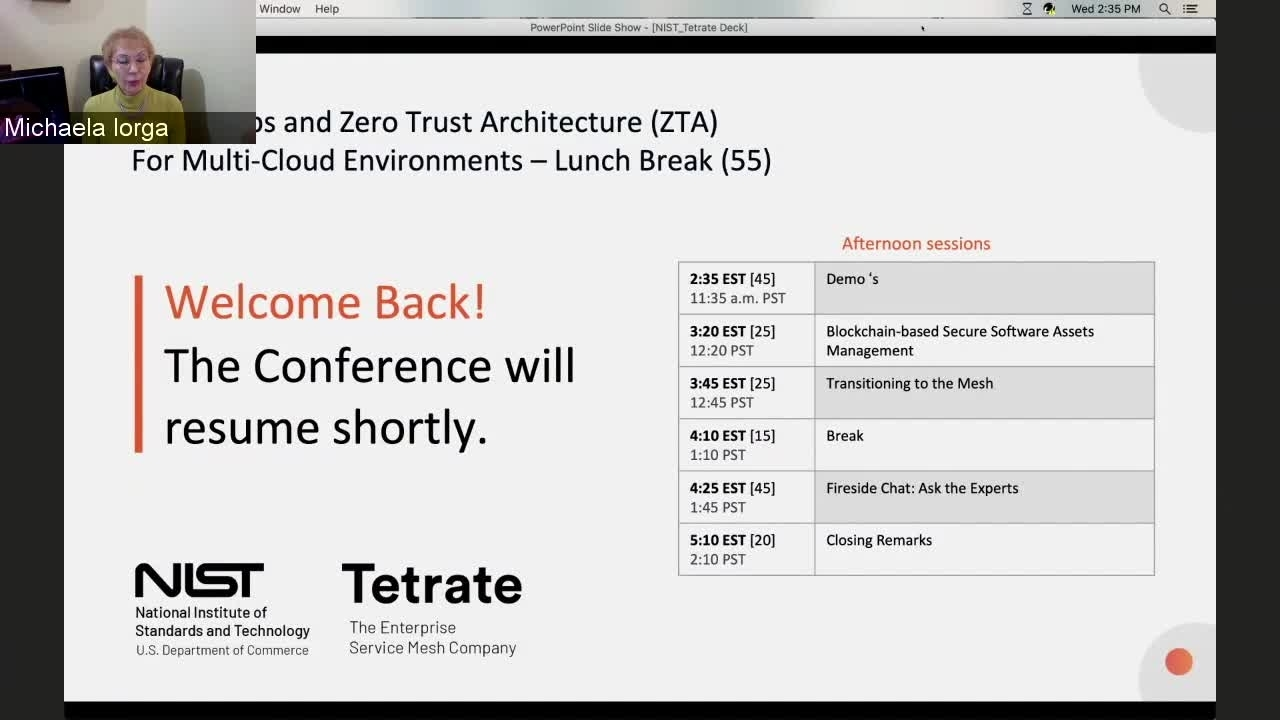 DevSecOps and ZTA for Multi-Cloud session  3