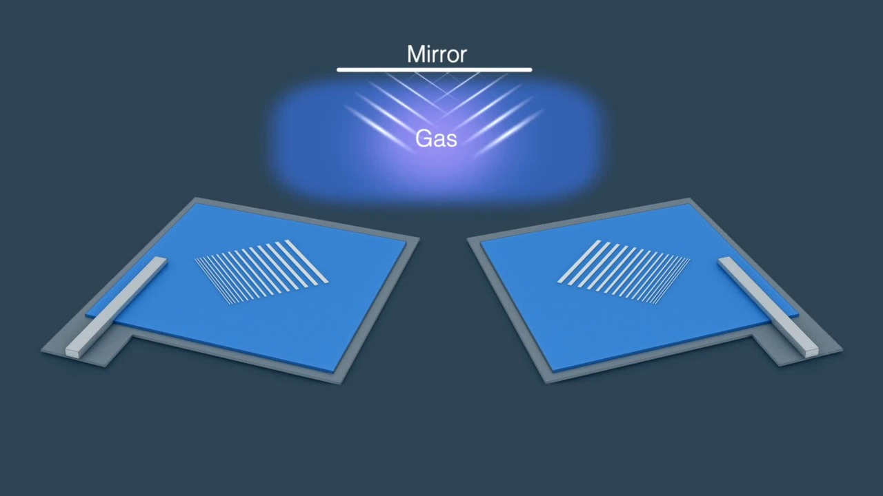 Expanding Light from a Waveguide into Air