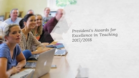 Thumbnail for entry NUI Galway President's Awards for Excellence in Teaching 2017/18