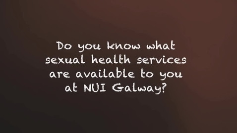 Thumbnail for entry Sexual Health NUIG SU
