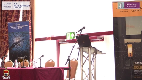Mary Robinson Centre Symposium Plenary Session III
