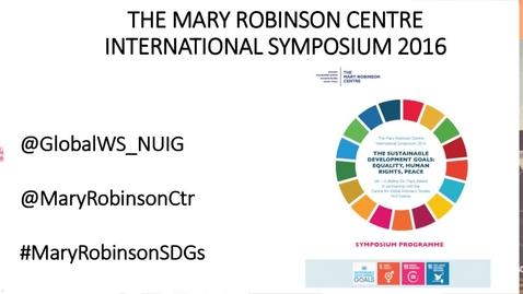 Mary Robinson Centre Symposium Opening Plenary