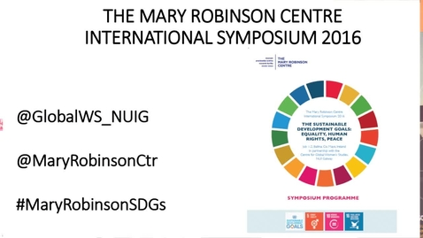 Mary Robinson Centre Symposium Opening Plenary