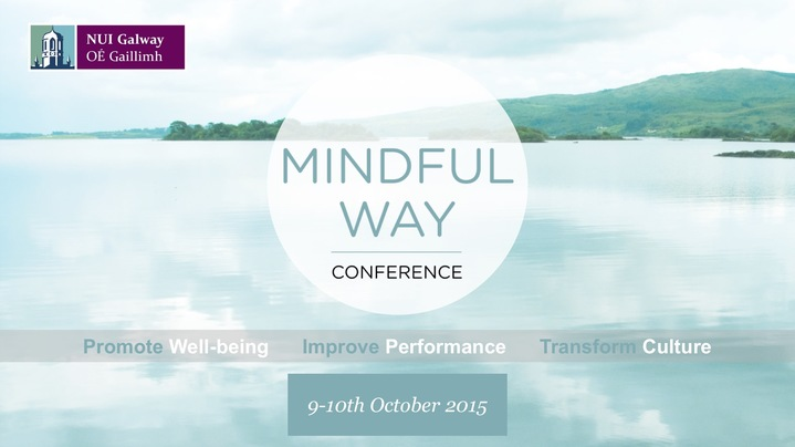 Thumbnail for channel Mindful Way Conference October 9th-10th 2015