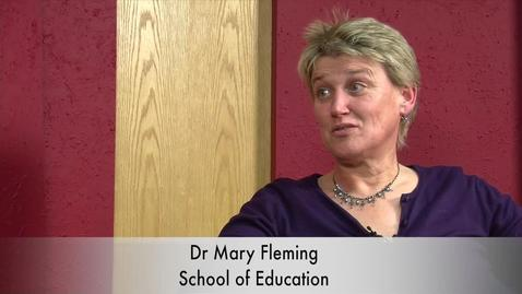 Thumbnail for entry An Interview with Dr Mary Fleming
