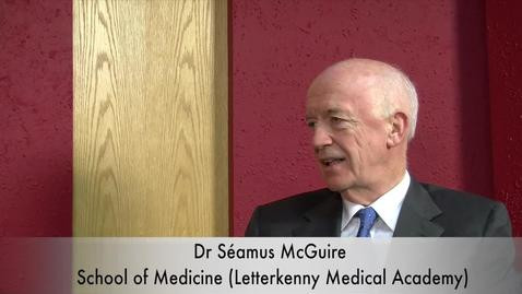 Thumbnail for entry Interview with Dr. Seamus McGuire