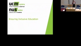 Thumbnail for entry Ensuring Inclusive Education
