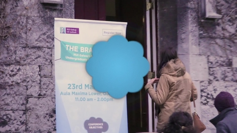 The Brain Café: NUI Galway's Second Annual Undergraduate Conference 2016