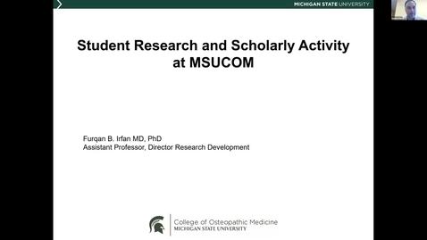 Thumbnail for entry MSUCOM - RCR Webinars