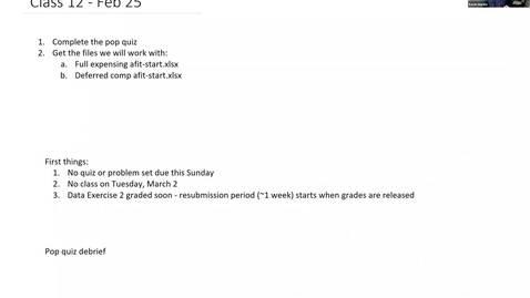 Thumbnail for entry ACC833 Classroom - Feb 25 9:40