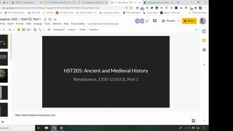 Thumbnail for entry 12.1 Renaissance, 1350-1550 CE, Part 1