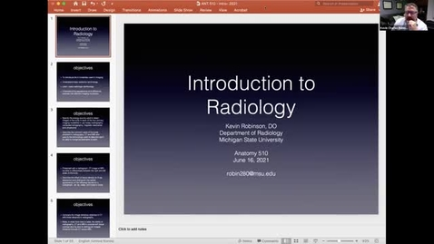 Thumbnail for entry ANTR510 Introduction to Medical Imaging