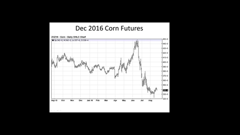 Thumbnail for entry Grain Marketing Update August 23, 2016