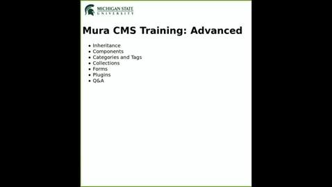 Thumbnail for entry Mura 7 Advanced Training