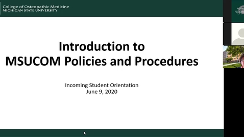 Thumbnail for entry 06.09.2020b Virtual Orientation - Intro to Policies & Procedures at EL