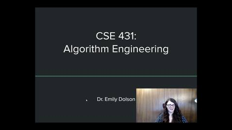 Thumbnail for entry Intro to thinking about algorithms