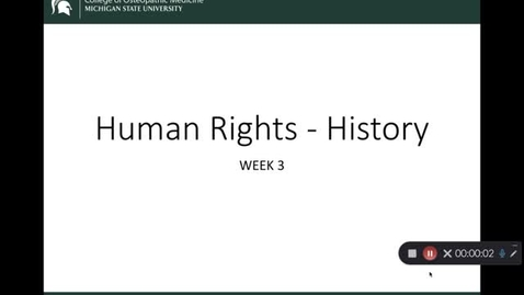 Thumbnail for entry OST 825 Gifford: Wk 3 Human Rights - History