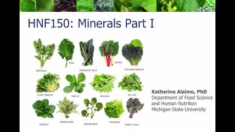 Thumbnail for entry Mini Lecture 5.2 - Minerals Part 1