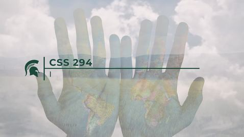 Thumbnail for entry CSS294 Intro
