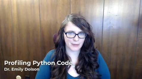 Thumbnail for entry Profiling Python Code