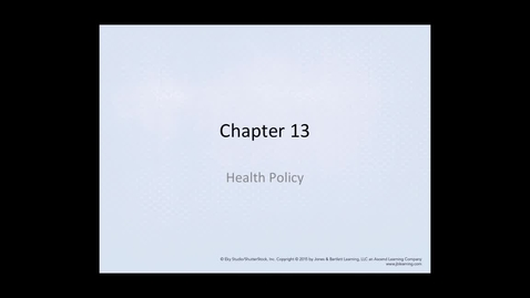 Thumbnail for entry HM819 Chapter13