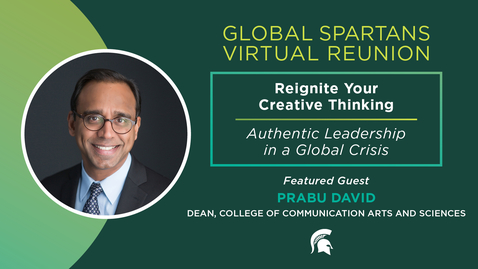 Thumbnail for entry Reignite your creative thinking | Global Spartans Virtual Reunion 2021