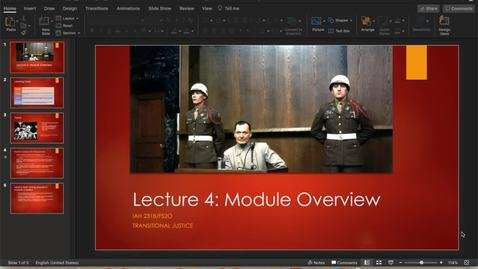 Thumbnail for entry Lecture 4
